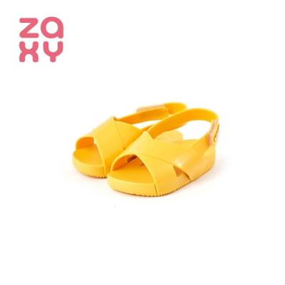 ZAXYNINA BRILHA SLIDE系列交叉涼鞋 寶寶鞋 黃