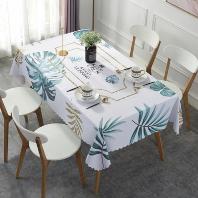 BUNNY LIFE 北歐風PVC防水防油桌巾桌墊-多款可選137x180cm