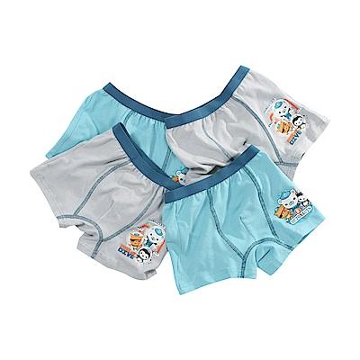 男童海底小縱隊彈性四角內褲(四組)  k51214 魔法Baby