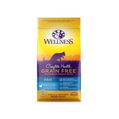 WELLNESS寵物健康-GRAIN FREE全方位無穀系列-成貓-無穀去骨雞肉食譜 11.5LBS/5.2KG (贈全家禮卷100元)
