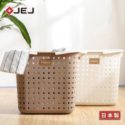 日本JEJ LEQAIR 單層L號洗衣收納籃