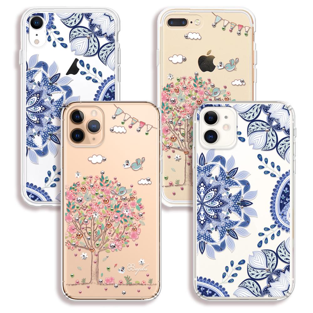 apbs iPhone全系列施華彩鑽防震雙料手機殼 product image 1