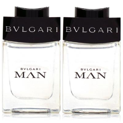 BVLGARI 寶格麗 MAN 當代男性淡香水5ml*2入