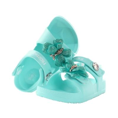 魔法Baby 女童鞋 台灣製迪士尼冰雪奇緣正版輕量美型涼鞋 sa14156
