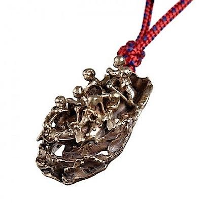 SAC #44 青銅鑰匙圈掛飾 泛舟