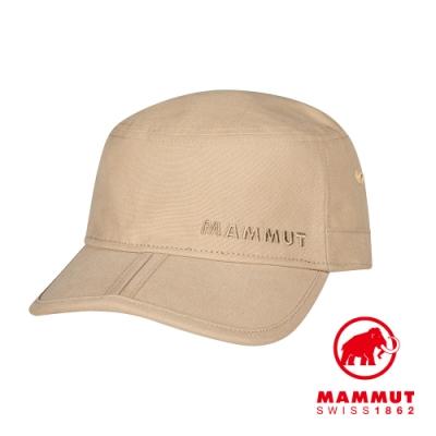 【Mammut】Lhasa Cap 防曬休閒帆布鴨舌帽 深野生棕 #1191-00020