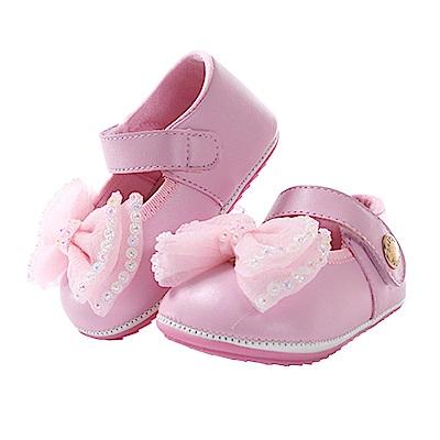 蝴蝶結手工止滑寶寶鞋 sk0588 魔法Baby