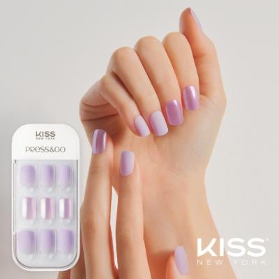KISS New York-Press&Go頂級光療指甲貼片(偷偷看你 KPNA06K)