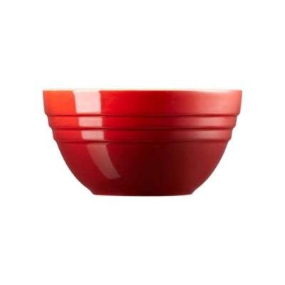 LE CREUSET 瓷器湯碗-櫻桃紅
