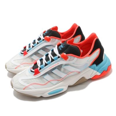 adidas 休閒鞋 Ozweego Pure 運動 男鞋 愛迪達 輕量 舒適 簡約 球鞋穿搭 白 紅 G57953