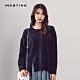 【MASTINA】MIT製 衣擺開衩-針織衫(三色) product thumbnail 1