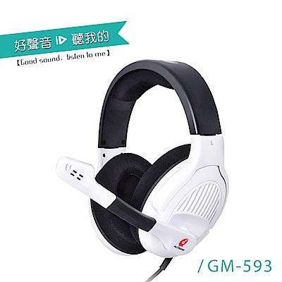 ALTEAM我聽 GM-593 電競四轉音場音效耳麥