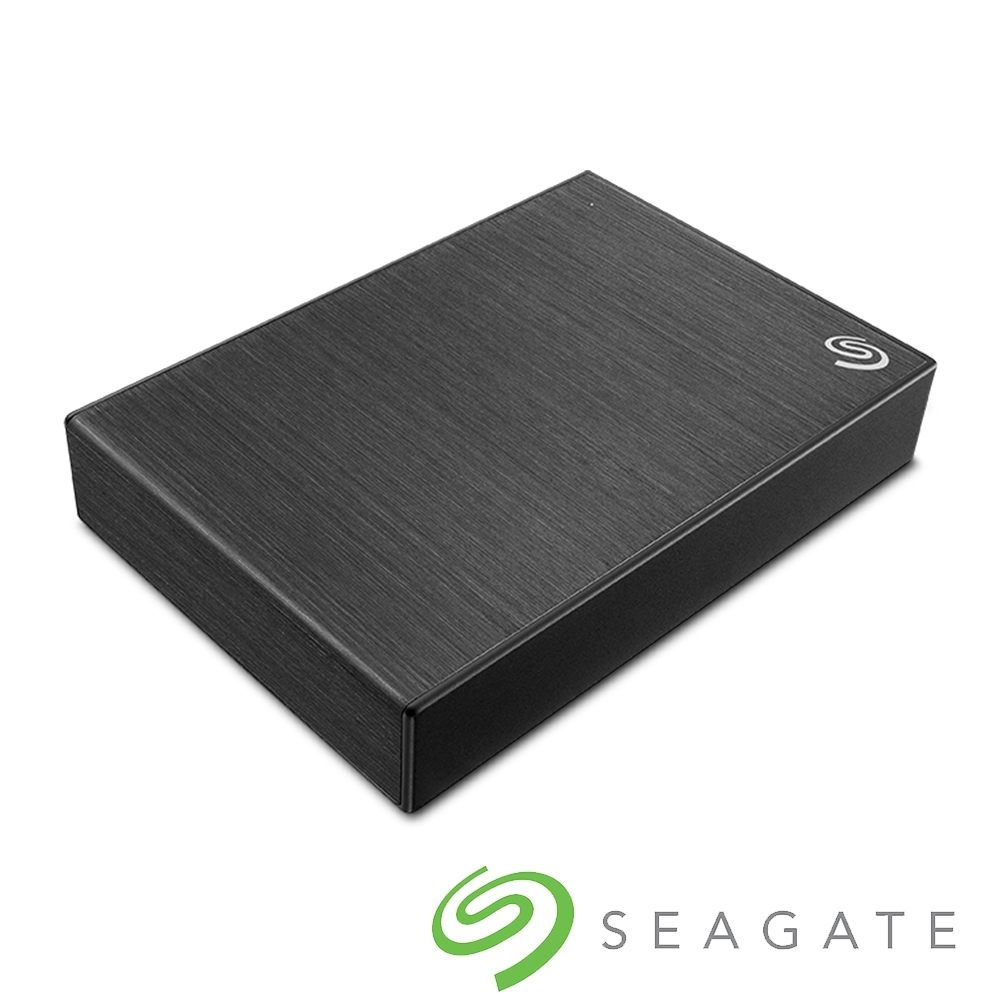 Seagate Backup Plus Portable 4TB 外接硬碟-極夜黑