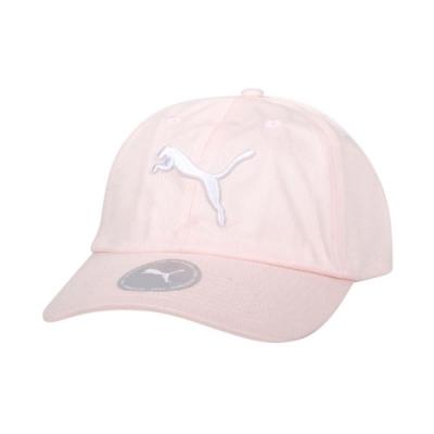 PUMA 基本系列棒球帽-防曬 遮陽 帽子 02241615 淺粉白