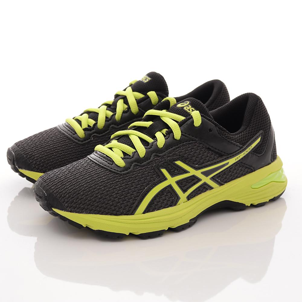 asics競速童鞋 高緩衝機能運動款 SE40N-9077灰黑(中大童段)