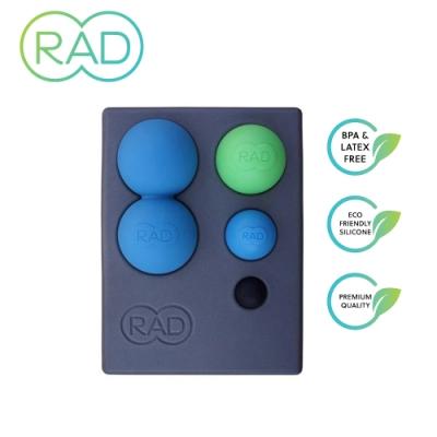 RAD Point Release Kit 瑜珈磚套組 花生球+3種尺寸按摩球+瑜珈磚 深層按摩 運動舒緩 筋膜放鬆