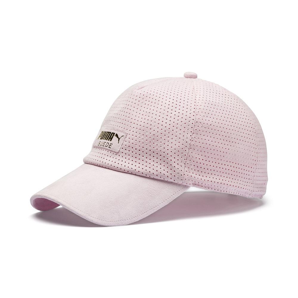 PUMA-男女PUMA SUEDE棒球帽-淡花粉