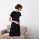 GIORDANO  女裝短袖居家洋裝 - 01 深藍 product thumbnail 1