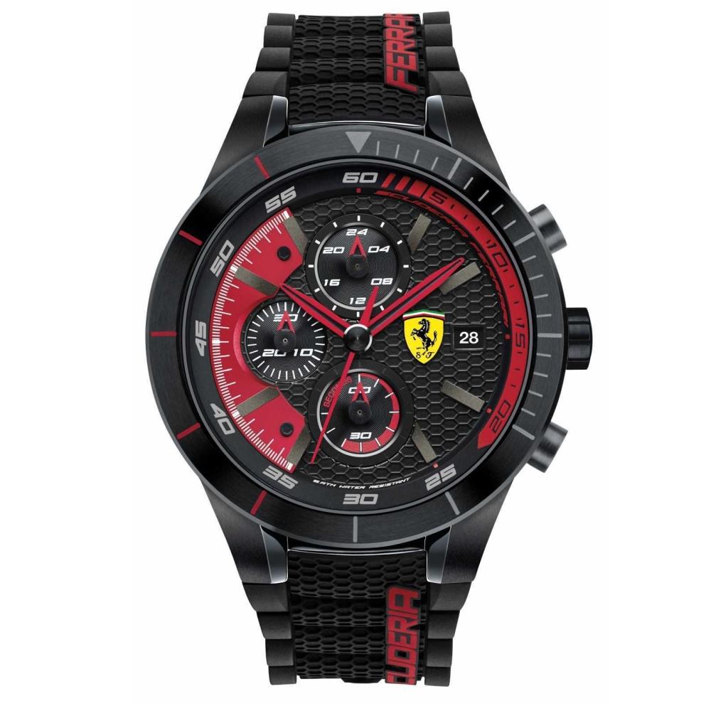 FERRARI Pit Crew速度感時尚腕錶/FA0830260