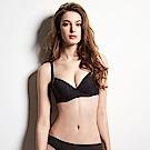 曼黛瑪璉 輕氧Bra  B-E罩杯內衣(黑)