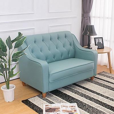 Boden 蒙諾復古皮沙發雙人椅/二人座 多色選