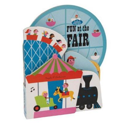 Bookscape Board Books:Fun At The Fair 好玩的市集造型書