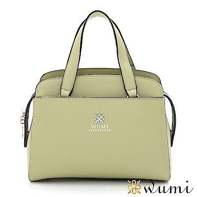 WuMi 無米 羅琳亞極簡手提包 薄荷綠