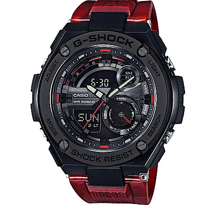 G-SHOCK 絕對強悍分層構造運動腕錶(GST-210M-4A)52.4mm