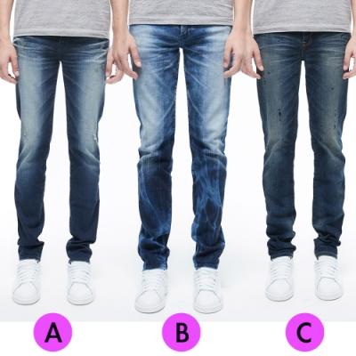 [時時樂限定]BRAPPERS 男款 修身魅力褲(三款選)