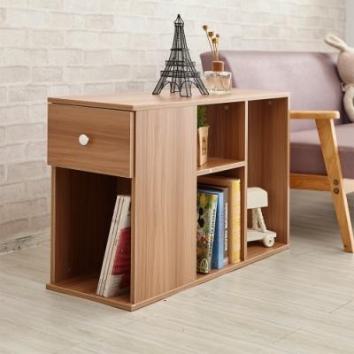 H&R安室家 實用收納櫃/玄關櫃/床邊櫃/書櫃OAF16