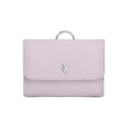 PORTER - 輕甜繽紛SPIRIT百搭頸掛零錢包 - 藕粉紫(銀)