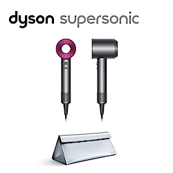 (無卡分期-12期)Dyson Supersonic™ 吹風機 桃紅色 (附銀色旅行收納袋)