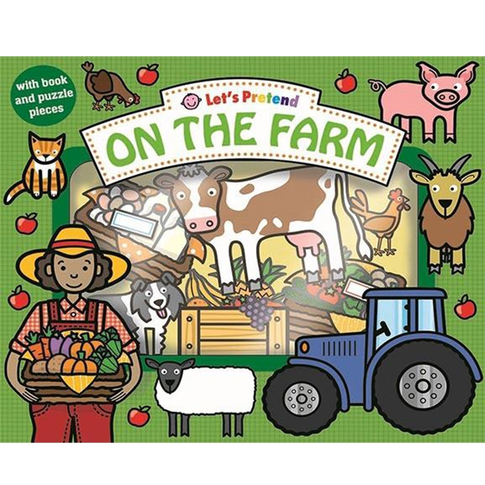 Let's Pretend:On The Farm 在農場硬頁掀翻操作書(英國版)