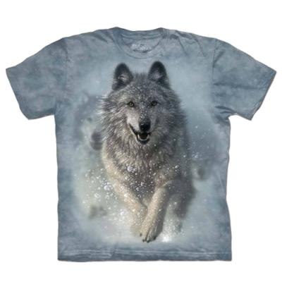 摩達客-自然純棉系列  雪狼開路 T恤