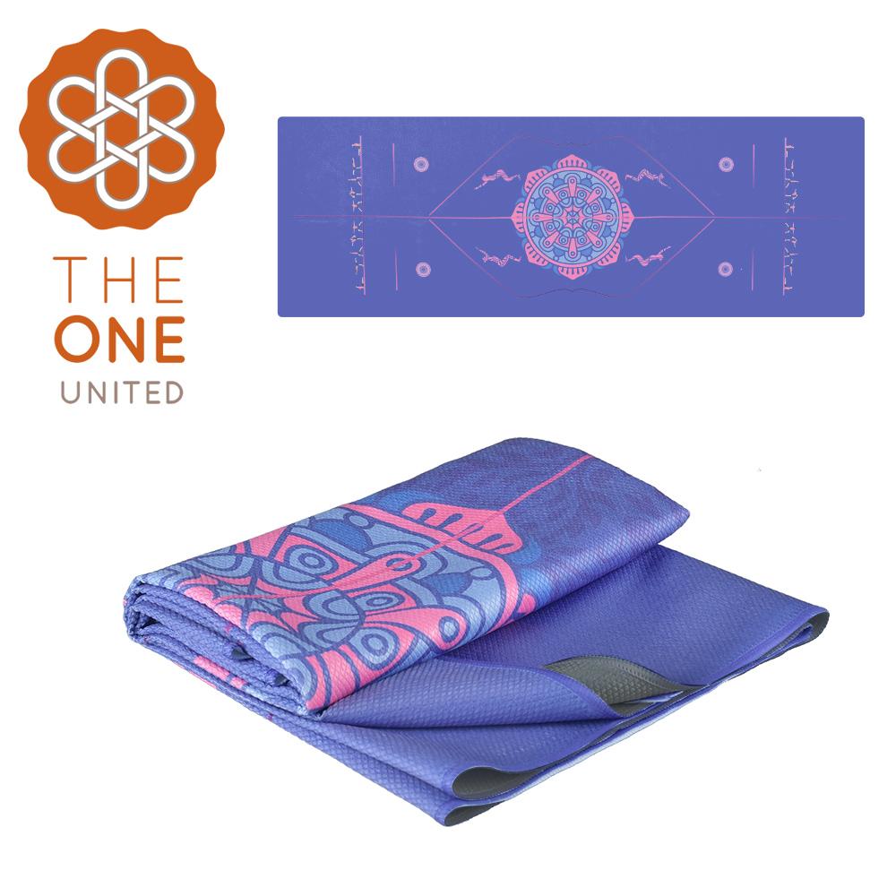 【The One】鑽石紋正位線止滑瑜珈舖巾
