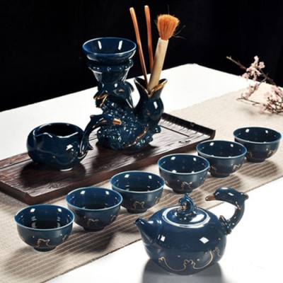 Pure 驀然雲倚茶具9件組
