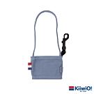 Kiiwi O! 輕便隨行系列可折疊環保帆布飲料袋 莫蘭迪藍
