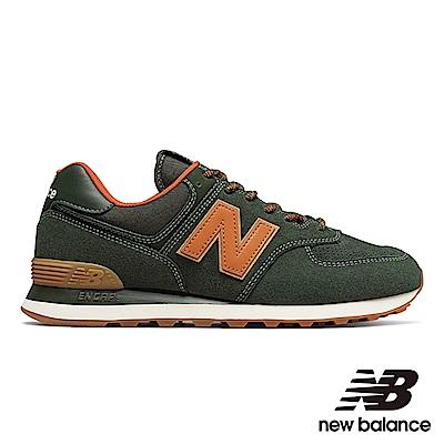 New Balance 復古鞋 ML574OTB-D 男 墨綠