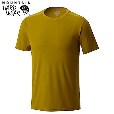 Mountain Hardwear 男款-快排短袖T恤-芥末 MOM01630MU
