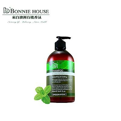 Bonnie House 薄荷頭皮沁涼洗髮精500ml
