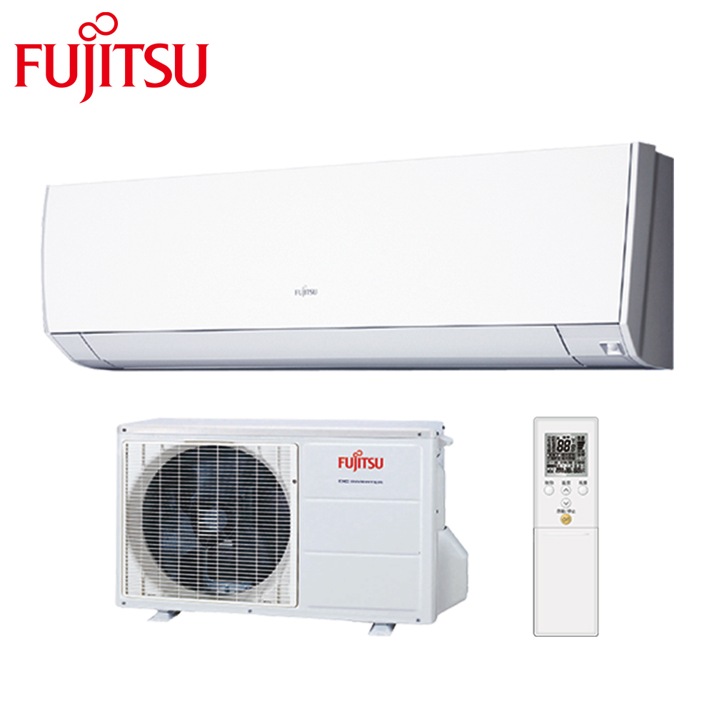 FUJITSU富士通4-6坪高級系列變頻冷專分離式冷氣AOCG028CMTA/ASCG028CMTA