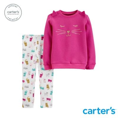 Carter s台灣總代理 貓咪家族2件組套裝