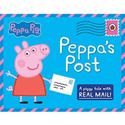 Peppa Pig:Peppa s Post 佩佩豬的舞台秀互動操作故事書