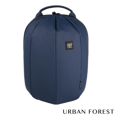 URBAN FOREST都市之森 甲蟲-Skin Touch膚感系列後背包/雙肩包 深海藍