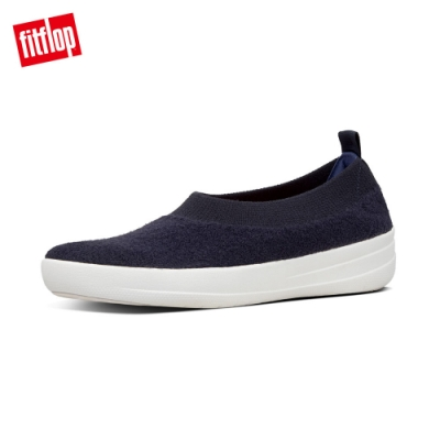 FitFlop COMFFKNIT BALLERINAS 娃娃鞋 極光藍