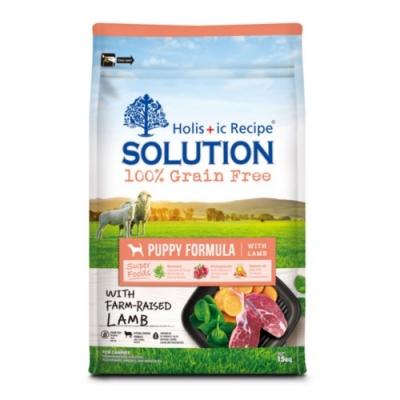 SOLUTION耐吉斯-無穀幼犬羊肉配方 6.6lbs (3kg)