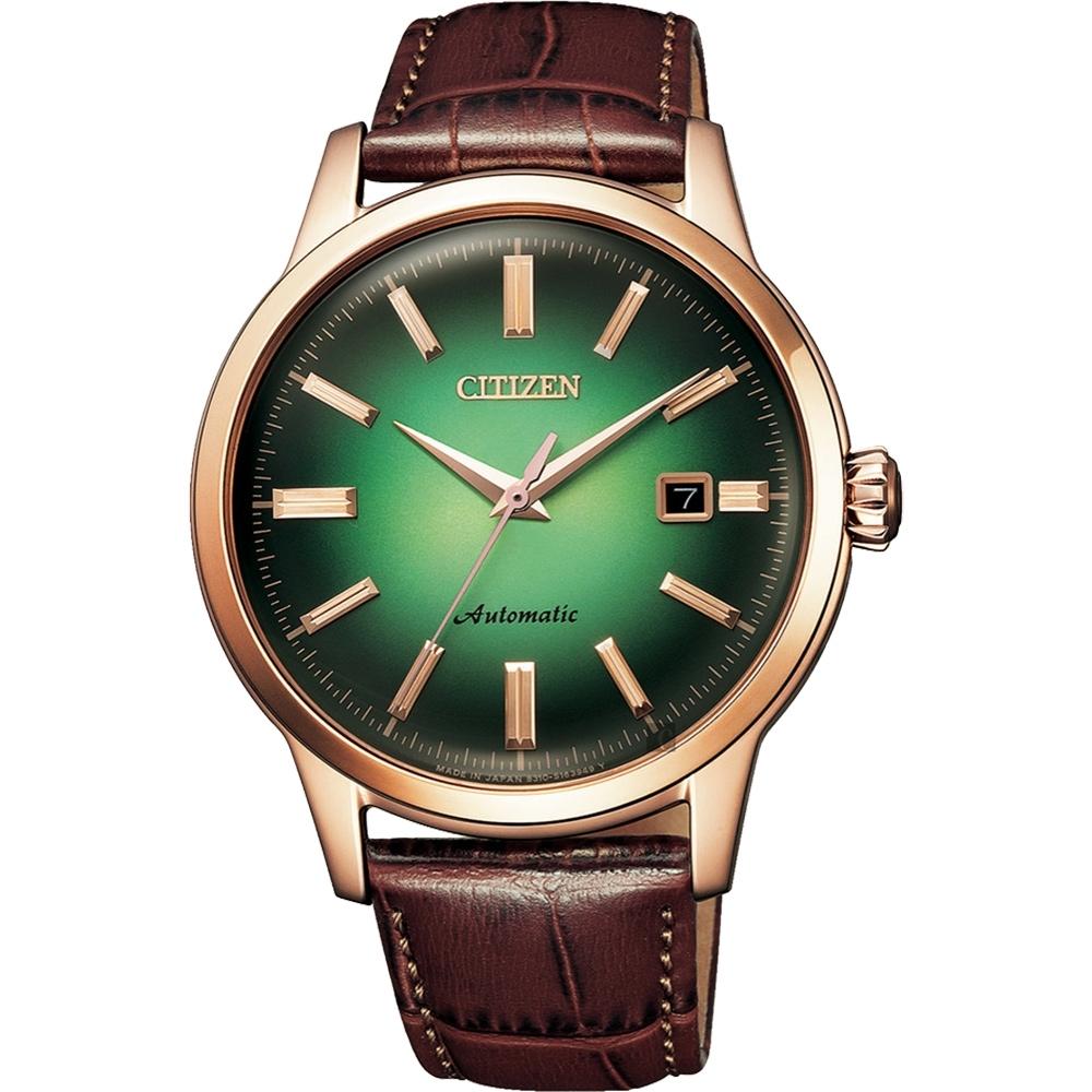 CITIZEN 星辰 限量紳士機械錶-41mm(NK0002-14W)