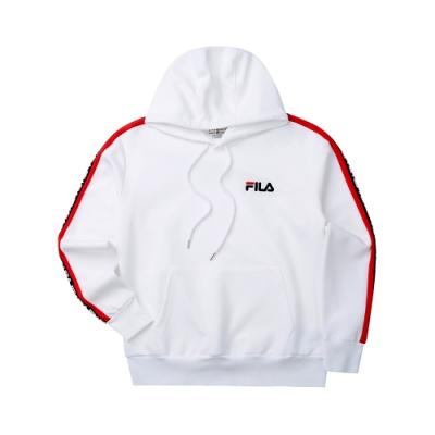 FILA #LINEA ITALIA 連帽T恤-白色 1TET-5432-WT