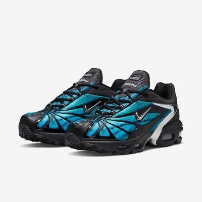 Nike 休閒鞋 Air Max Tailwind V 男鞋 Skepta聯名 氣墊 避震 紮染圖案 黑 藍 CQ8714001