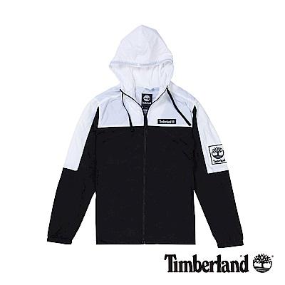 Timberland 男款潮流撞色連帽拉鍊外套|A1N8D